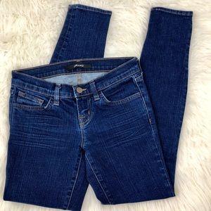 J Brand Daphne Dark Wash Skinny Jeans 24x28
